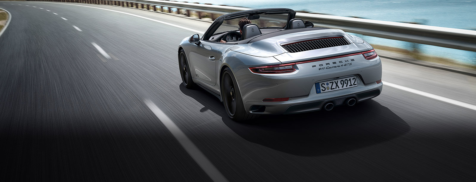 The new 911 Carrera 4 GTS Cabriolet
