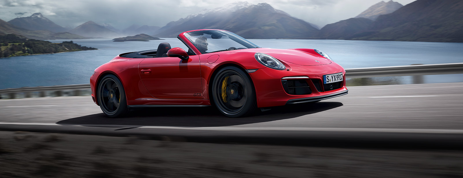 The new 911 Carrera GTS Cabriolet