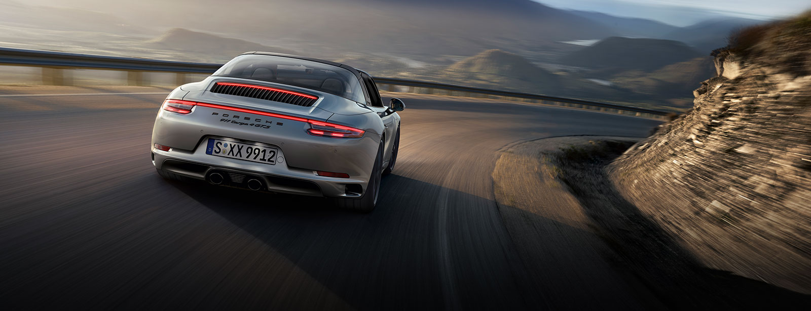 The new 911 GTS.